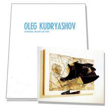 OLEG KUDRYASHOV, 1st Edition Art Exhibition Cat 1991, 3D Russian Art, 1873215207
