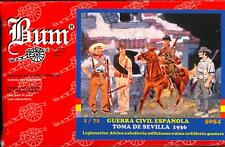 BUM Models 1/72 THE SEIGE OF SEVILLE 1936 Spanish Civil War Set
