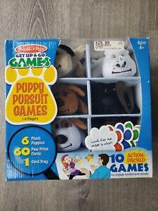Melissa & Doug Get Up & Go Games Puppy Pursuit 67-Piece Multiplayer Plush New