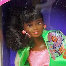 1987 muñeca Barbie y las sensaciones Belinda Menta en caja desgastada