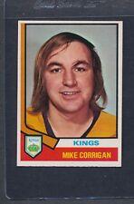 1974/75 OPC O-Pee-Chee #037 Mike Corrigan Kings NM *13