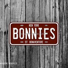 St Bonaventure University Bonnies St. Bonaventure New York License Plate