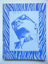 Ray Charles Nov 11 1968 March of Dimes Fairfield College Benefit Concert Program