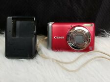 Canon PowerShot A3100IS 12.1 MP Digital Camera with 4x Optical Zoom (Red)
