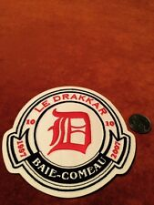 Le Drakkar Baie Comeau QMJHL Hockey Shoulder Crest Patch 5 inches round