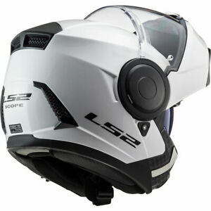 LS2 CASCO MODULARE URBAN COMMUTER SCOPE HPTT FF902 SOLID WHITE BIANCO APRIBILE