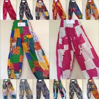 New Aladdin Boho Gypsy Hippie Patch Baggy Harem Pants Trousers Jumpsuit