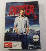 Dexter The Second Season Complete Boxed Set DVD 4 Disc Showtime