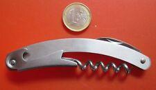 Corksrew Bottle Opener Penknife Pulltaps Patent Steel Combo Can Opener