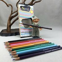 Empire SUNSET Colored Pencil Crayons by Hasbro Vintage Box of 12