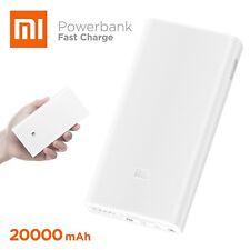 Genuine Xiaomi  2C 20000mAh QC3.0Polymer Power Bank 2Dual USB Output Original Pk