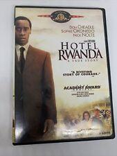 Hotel Rwanda A True Story Dvd Video