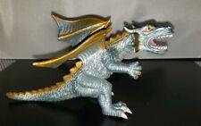 """Toy Major 2006 Elite Dragon Toy 7"""" Silver/Orange"""