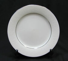Noritake Contemporary China Tahoe Salad Plate, White Floral on White 2585