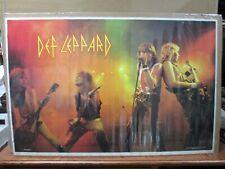 Vintage Poster Def Leppard Rock n/' Roll 1983 Inv#2619