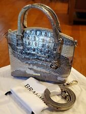 Brahmin Croco Leather Muse Melbourne Mini DUXIE Crossbody Purse