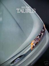1995 Ford Taurus sedan/wagon new vehicle brochure