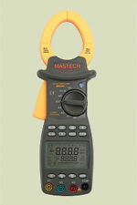 Mastech Ms2203 Three Phase Digital Power Clamp Meter power factor correction w/a