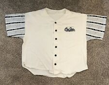 California Crazee Wear Baseball Jersey Made in The Usa White Size X Large