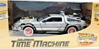 MODELLINO AUTO MACCHINA RITORNO AL FUTURO 3 TRE SCALA 1:24 DELOREAN CAR MODEL