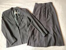 Sportscraft Vintage Pure Wool Suit Womens Size 12 Would Suit 10 Black