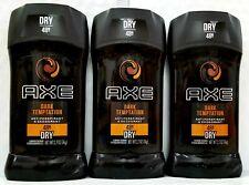 AXE Antiperspirant Deodorant Stick for Men Dark Temptation 2.7 oz (Pack of 3)