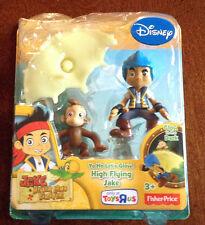 New Disney Jake Neverland Pirates YO HO LET'S GLOW HIGH FLYING JAKE Glow in Dark