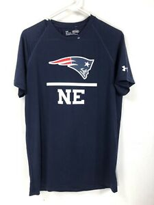 New England Patriots Under Armour Combine Authentic Lockup Tech T-Shirt Small