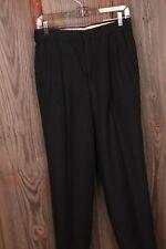 Grey Wool 30 x 25 1/2 Pants Dress Slacks Mens VTG