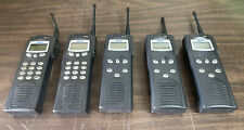Lot Of 5 Macom P7100 Ip 800 Mhz Portable 2 Way Radio Ht715081x Ht7170t81x
