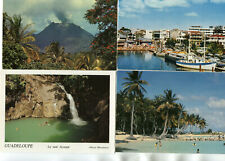 GUADELOUPE LOT de 12 cartes