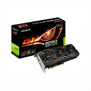 GIGABYTE Video Card NVIDIA GeForce GV-N1070G1 GTX 1070 Gaming-8GD Japan NEW