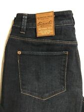 Coldwater Creek Size 8 Bootcut Natural Fit Stretch Distressed Womens Blue Jeans