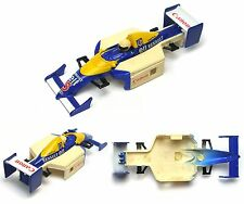 1994 TYCO Renault CANON elf #5 Indy F1 Slot Car BODY Dull No Frt Rear Flag Test?