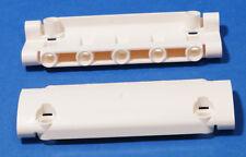 LEGO Technik - 2 x Panel gebogen 11x3 weiss / White Panel Curved / 62531 NEUWARE
