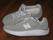 NEW BALANCE 1442 Light Grey Gray ROCK & TONE Suede Womens Sneakers Shoes Sz 10