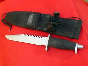Gerber USA made Basic Multi-Function (BMF) W/Sawteeth  #094654 fixed blade Knife