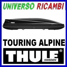 BOX TETTO PORTATUTTO AUTO THULE  Touring Alpine 700 NERO LUCIDO 430 lt