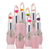 Jelly Flower Magic Color Changing Long Lasting Lip Gloss Moisturizing Lipstick