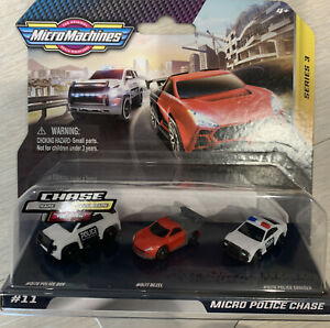Micro Machines Micro Police Chase