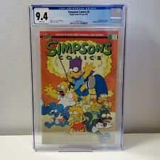 Simpsons Comics #5 - Bongo Comics CGC 9.4