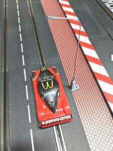 Carrera 1/32 slot car track post bright LED clip on scale scenic lights