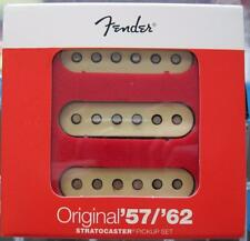 Fender® Original '57/'62 Strat Pickups~USA~Aged White Cover~0992117000~Brand New