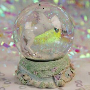 Quality Unicorn Snow Globe Girls Glitter Water Ball Xmas Christmas Gift Ornament