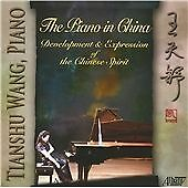 TIANSHU WANG, THE PIANO IN CHINA, US 18 TRACK CD ALBUM FROM 2011, (MINT)