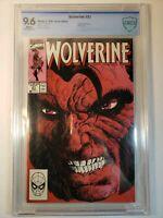 Wolverine #21 - CBCS 9.6 - Marvel (2/1990) NOT CGC