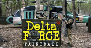 15 IPG Delta Force Paintball Tickets