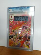 Harbinger #0 Pink Variant CGC 9.8 White Pages Valiant