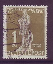 Gestempelte Briefmarken aus Berlin (1948-1949) mit Post- & Kommunikations-Motiv