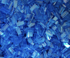 500 x LEGO® Tile / Fliese 1x2 ( 3069 ) in Transp. dunkel blau / Trans dark blue